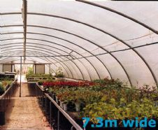 Polytunnel Cover Polythene - 7.3m wide